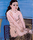 Seated Woman Rosalie 1929 - Raoul Dufy