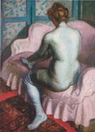 Nude on a Pink Sofa 1902 - Raoul Dufy