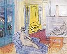 Le Modele dans Latelier de la Place Arago a Perpignan 1949 - Raoul Dufy