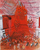 Red Orchestra c1946 - Raoul Dufy