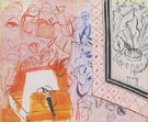 Music and the Pink Violin 1952 - Raoul Dufy