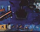 Le Cargoo Noir au Drapeau c1949 - Raoul Dufy