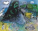 Sainte Adresse Le Cargo Noir 1951 - Raoul Dufy