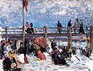 Beach Scene with Pier 1901 - Raoul Dufy