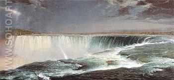 Niagara 1857 - Frederic E Church reproduction oil painting