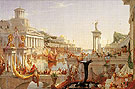 The Consummation of Empire c1835 - Thomas Cole reproduction oil painting