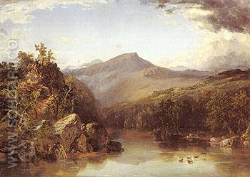 A Reminiscence of the White Mountains 1852 - John Frederick Kensett reproduction oil painting