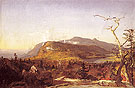 Catskill Mountain House 1855 - Jasper Francis Cropsey reproduction oil painting