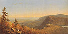 Catskill Mountain House 1862 - Sandford Robinson Gifford reproduction oil painting
