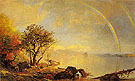Dawn of Morning Lake George 1868 - Jasper Francis Cropsey