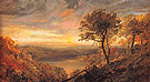 Greenwood Lake 1870 - Jasper Francis Cropsey reproduction oil painting