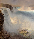 Niagara Falls from the American Side 1867 - Frederic E Church