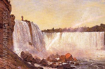 Niagara Falls 1856 - Frederic E Church reproduction oil painting