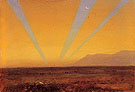 Landscape with Sunset c1860 - Frederic E Church