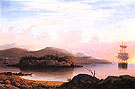 Off Mount Desert Island 1856 - Fitz Hugh Lane reproduction oil painting