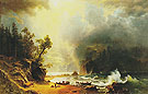Puget Sound on the Pacific Coast 1870 - Albert Bierstadt
