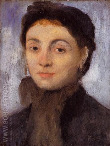 Madame Gaujelin 1867 - Edgar Degas reproduction oil painting