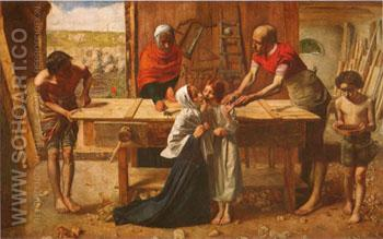 Christ in the House of his Parents c1849 - John Everett Millais reproduction oil painting
