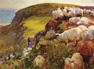 Our English Coasts 1852 - William Holman Hunt reproduction oil painting