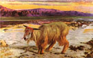 The Scapegoat 1854 - William Holman Hunt reproduction oil painting