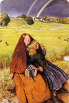 The Blind Girl 1856 - John Everett Millais reproduction oil painting