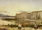 Pegwell Bay a Recollection of October 5th 1858 - William Dyce reproduction oil painting