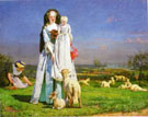 Pretty Baa lambs c1851 - Ford Madox Brown