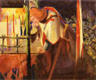 Sir Galahad at the Ruined Chapel 1859 - Dante Gabriel Rossetti