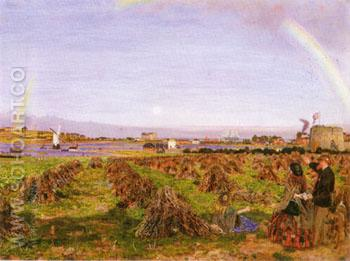 Walton on the Naze - Ford Madox Brown reproduction oil painting