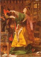 Morgan le Fay 1864 - Frederick Sandys