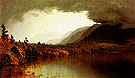 A Coming Storm on Lake George c1866 - Sandford Robinson Gifford reproduction oil painting