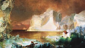 The Icebergs 1861 - Frederic E Church reproduction oil painting