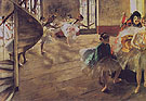The Rehearsal c1874 - Edgar Degas reproduction oil painting