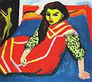 The Dancer from the Rat Mort c1905 - Maurice de Vlaminck