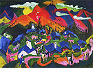 Return of the Animals Stafelalp 1919 - Ernst Kirchner