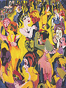 Dance at Mendrisio 1926 - Albert Muller reproduction oil painting