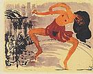 Dancer 1913 - Emile Nolde