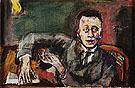 Portrait of Karl Kraus II 1925 - Oskar Kokoshka