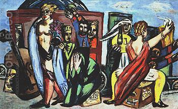 The Journey 1944 - Max Beckmann reproduction oil painting