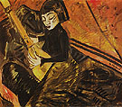 Girl Playing the Lute 1913 - Erich Heckel