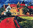 Saxon Village 1910 - Erich Heckel