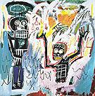 Untitled Baptism 1982 - Jean-Michel-Basquiat