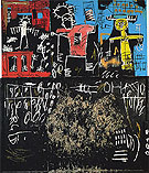 Untitled Black Tar and Feathers 1982 - Jean-Michel-Basquiat