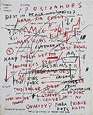 Untitled Quality 1982 - Jean-Michel-Basquiat