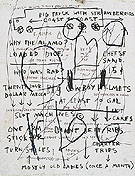 Untitled Mostly Old Ladies 1982 - Jean-Michel-Basquiat