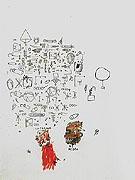 Untitled Caucasian Negro 1987 - Jean-Michel-Basquiat