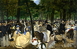 Music in the Tuileries Gardens c1860 - Edouard Manet
