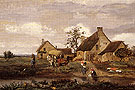 Farm at Recouvrieres Nievre 1831 - Jean-baptiste Corot