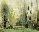 Morning Near Beauvais 1855 - Jean-baptiste Corot