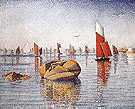 Morning Calm 1891 - Paul Signac